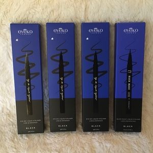 NEW 4 Eyeko Eye Do & Black Magic Liquid Eyeliners